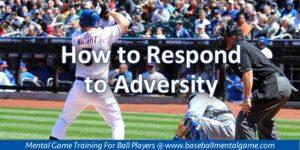 Adversity in Baseball
