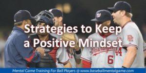 Positive Mindset in Baseball
