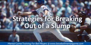 Breaking Slumps in Baseball